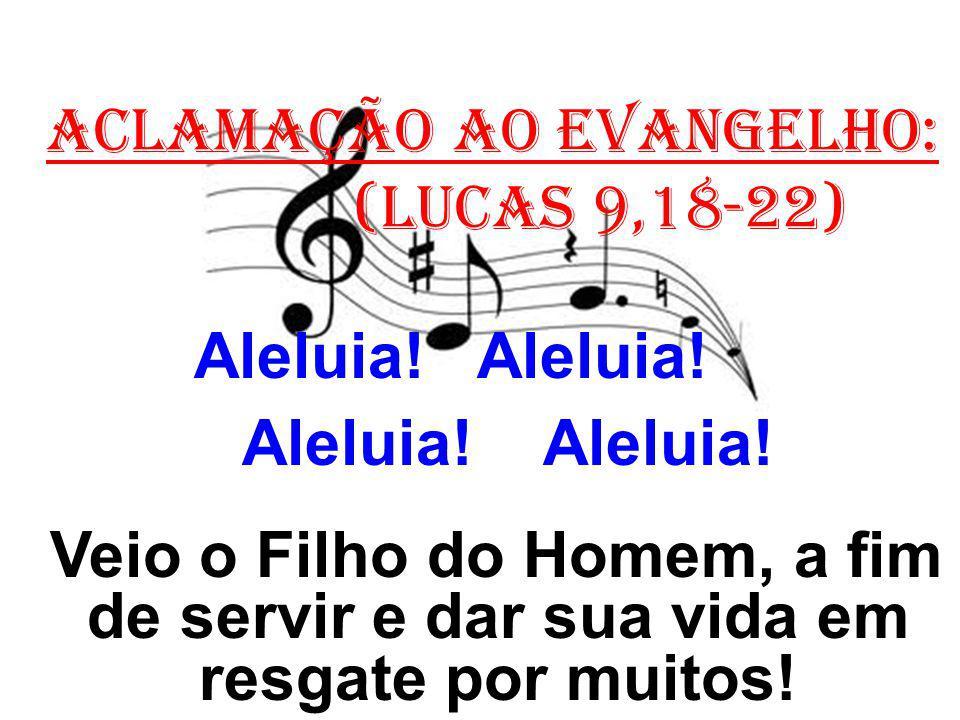 ACLAMAÇÃO AO EVANGELHO: