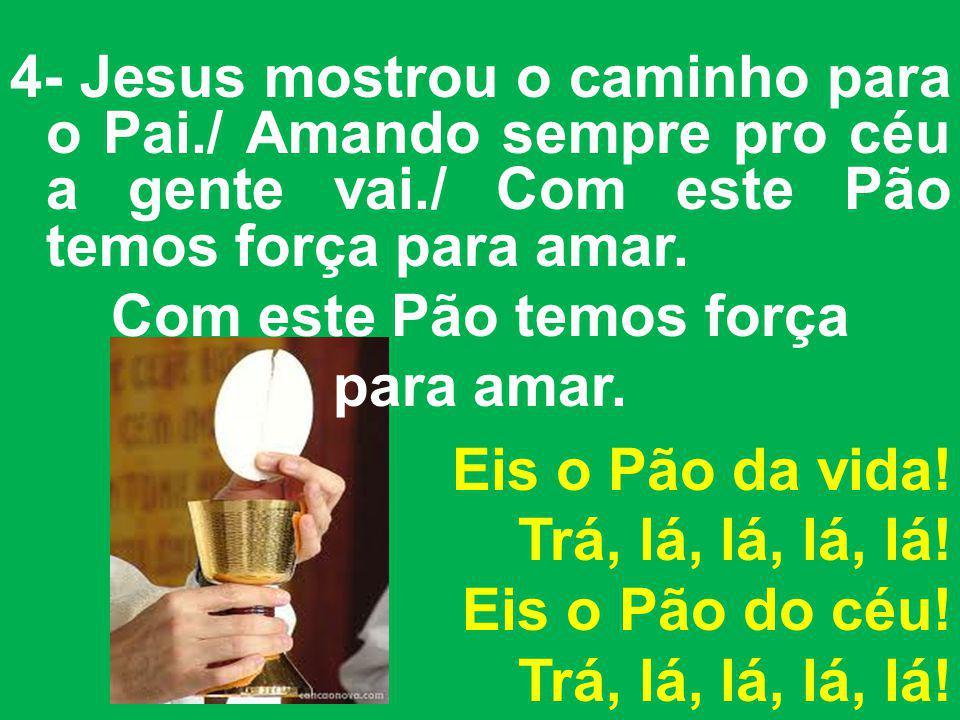 4- Jesus mostrou o caminho para o Pai