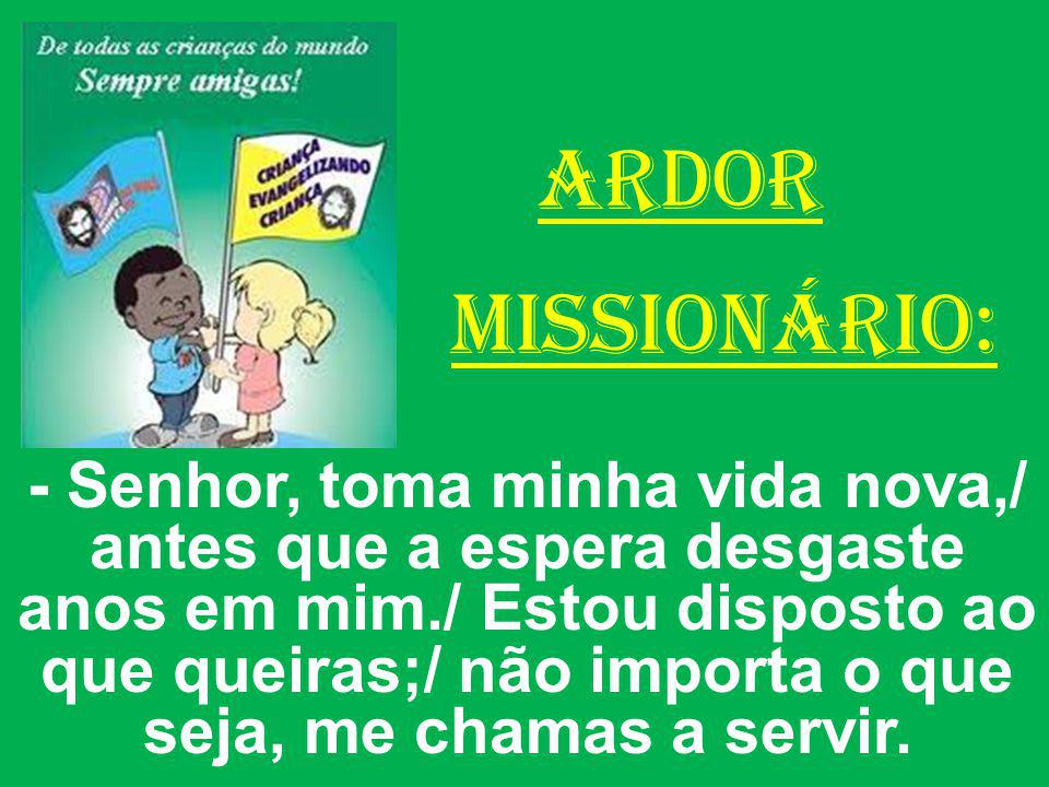 ARDOR MISSIONÁRIO: