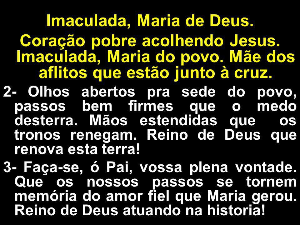 Imaculada, Maria de Deus.