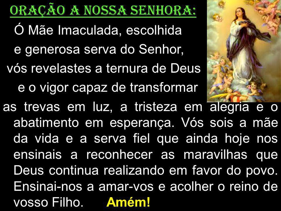 Oração a NOSSA SENHORA: