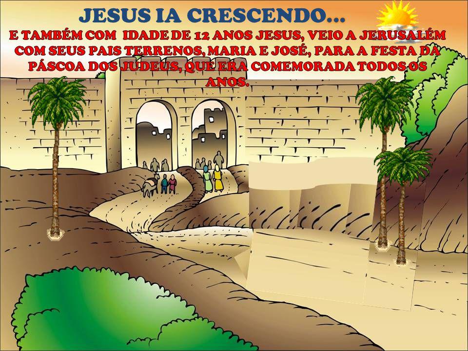 JESUS IA CRESCENDO...