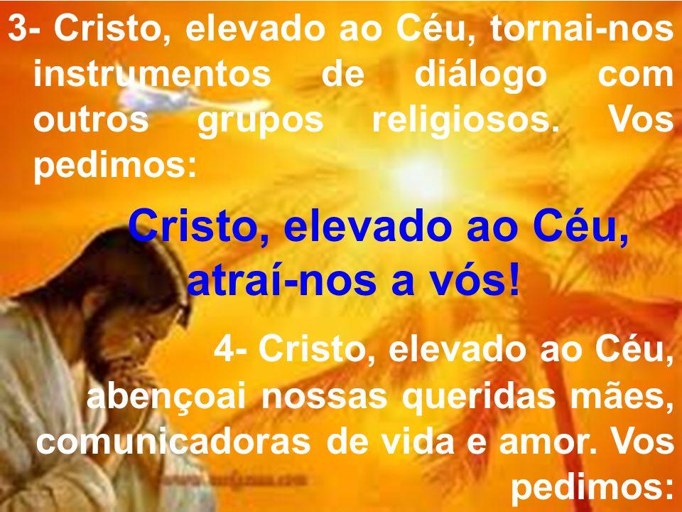 Cristo, elevado ao Céu, atraí-nos a vós!