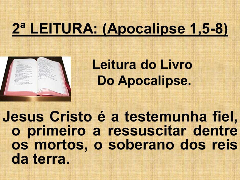 2ª LEITURA: (Apocalipse 1,5-8)