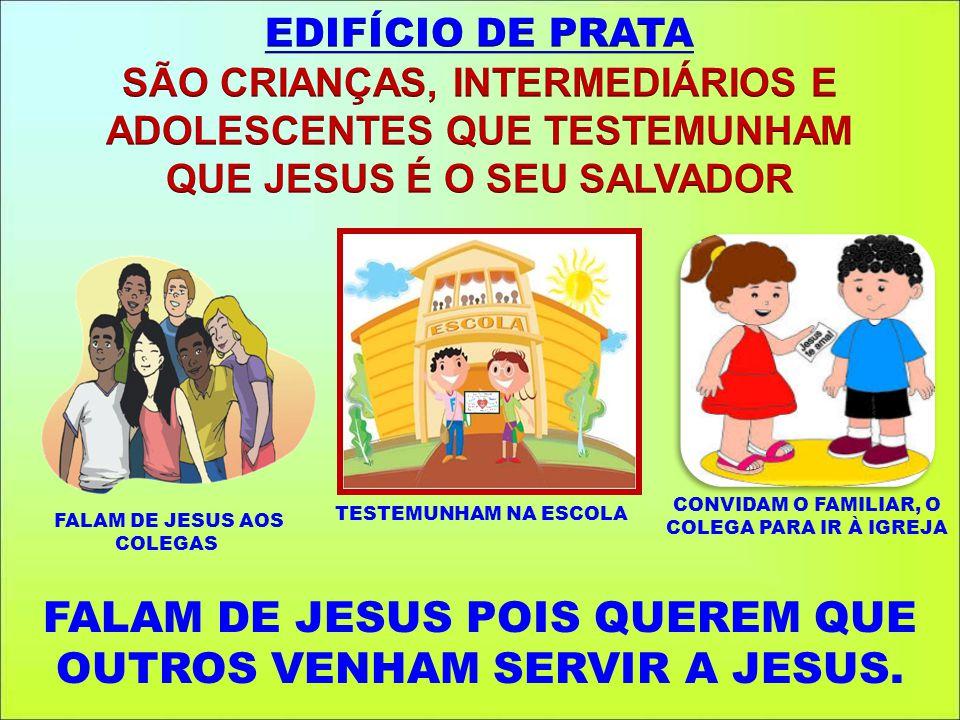 FALAM DE JESUS AOS COLEGAS
