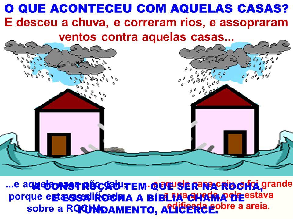 O QUE ACONTECEU COM AQUELAS CASAS