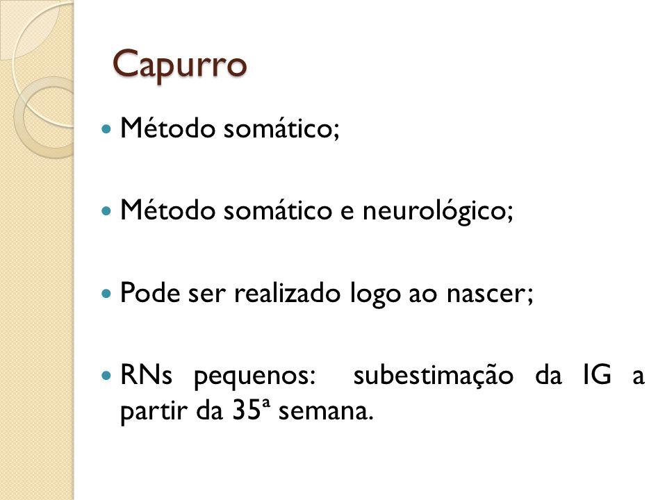 Capurro Método somático; Método somático e neurológico;