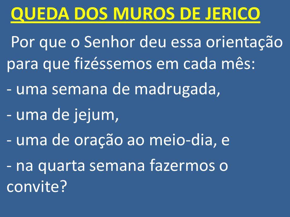 QUEDA DOS MUROS DE JERICO