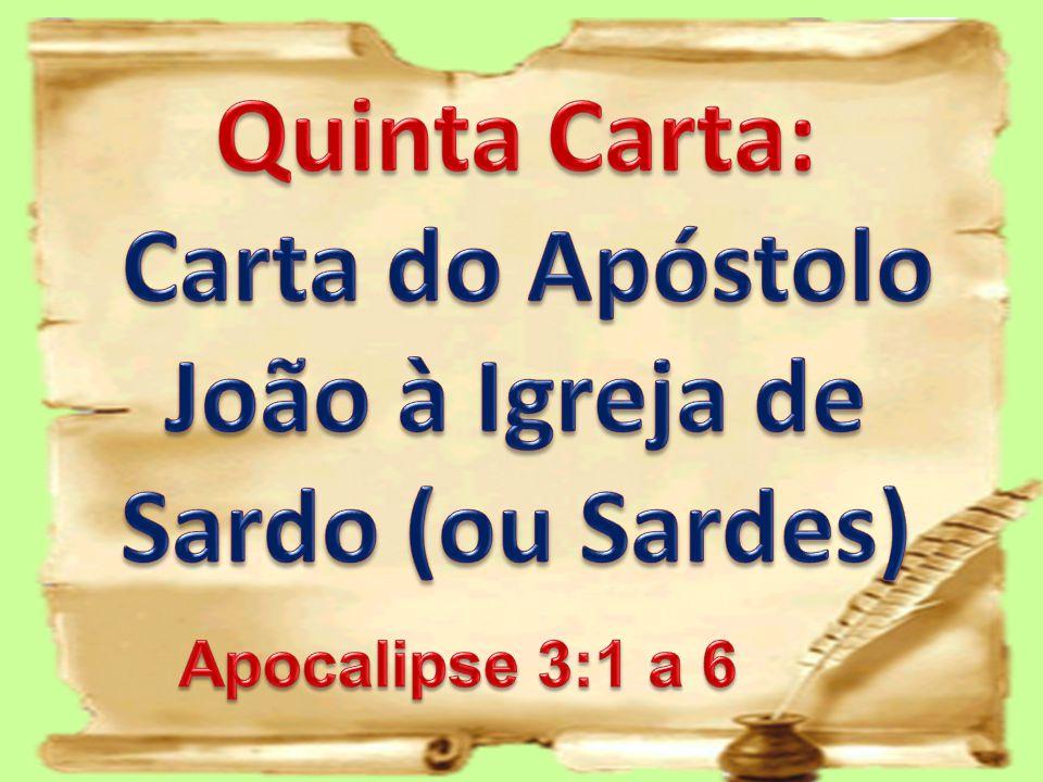 Carta do Apóstolo João à Igreja de Sardo (ou Sardes)