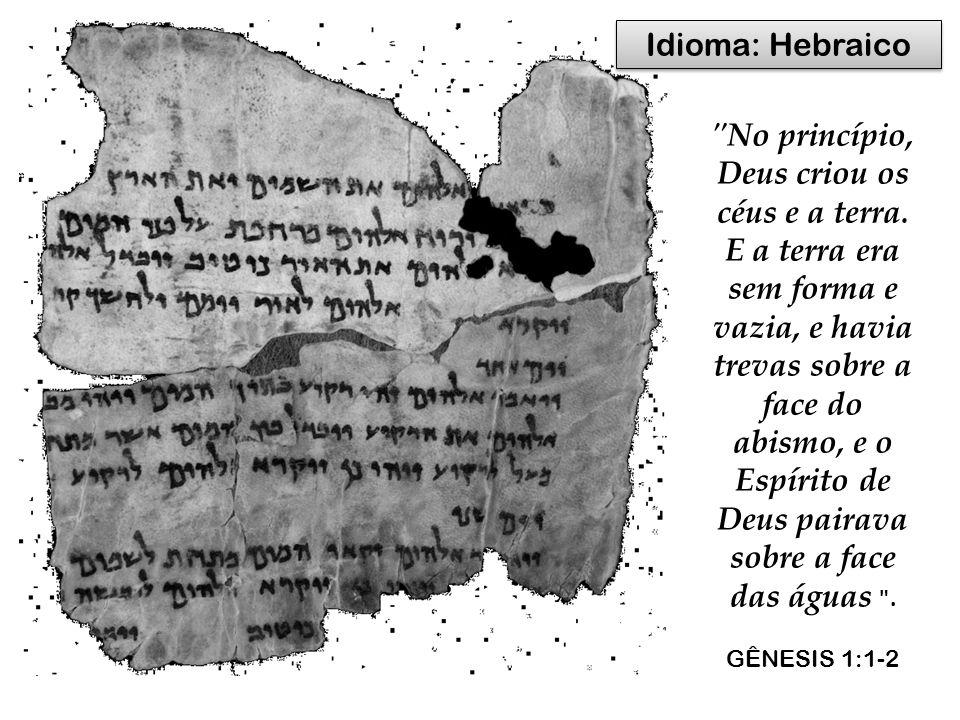 Idioma: Hebraico