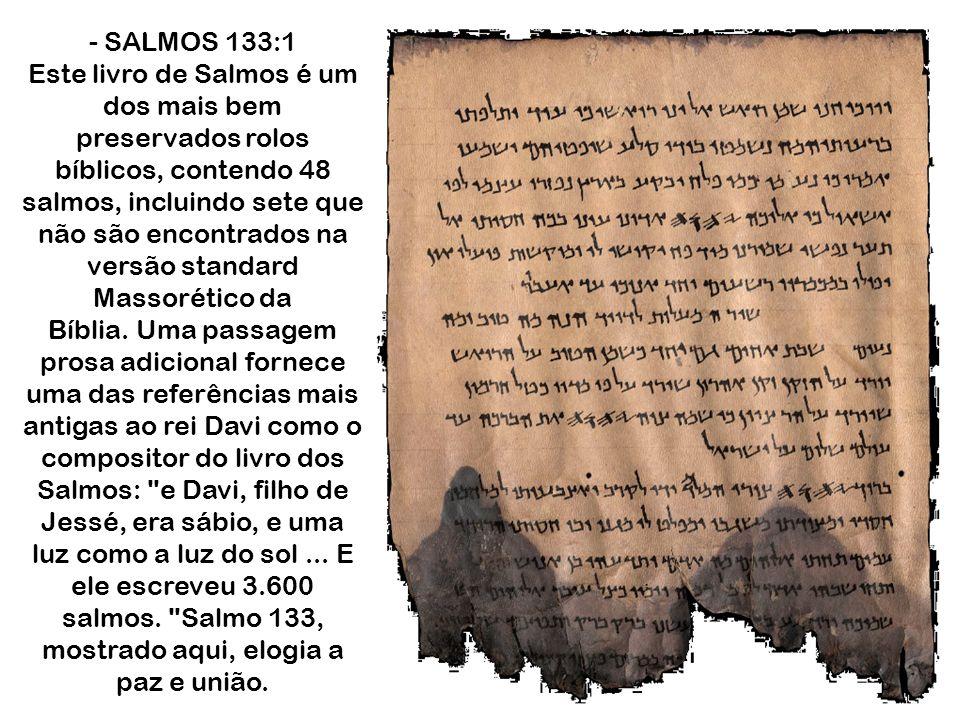 - SALMOS 133:1