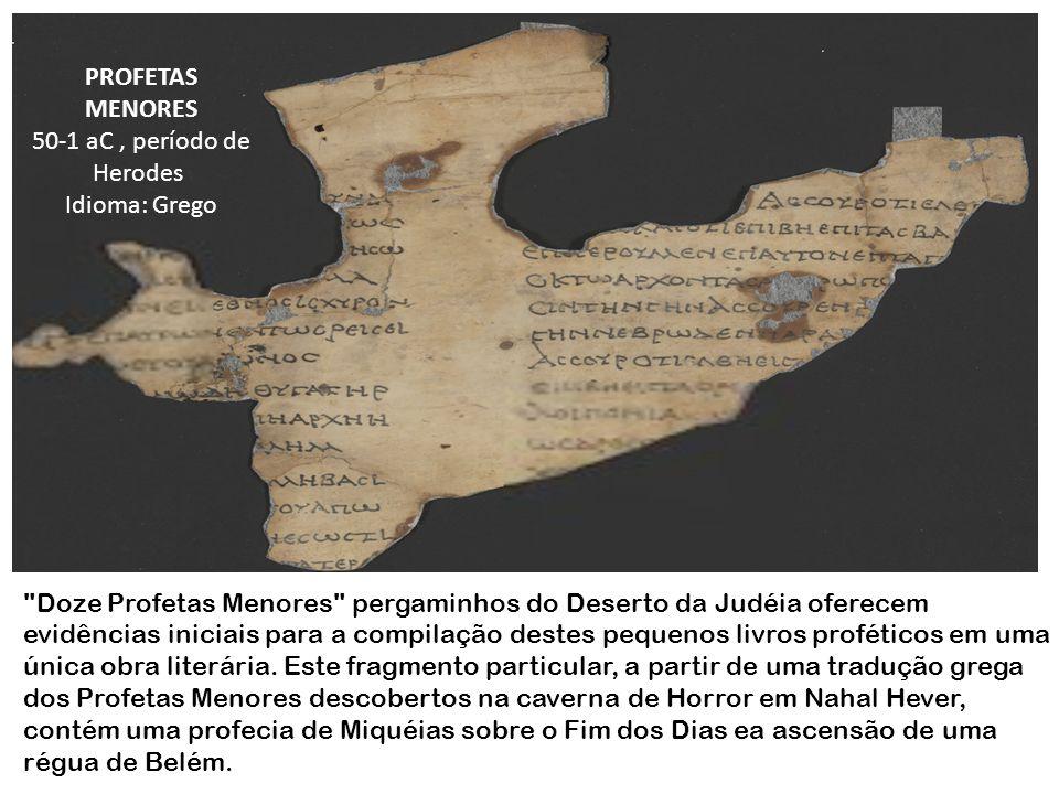 50-1 aC , período de Herodes Idioma: Grego