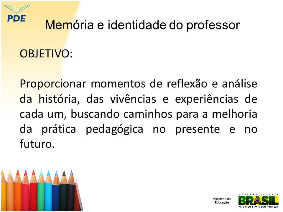 Memória e identidade do professor