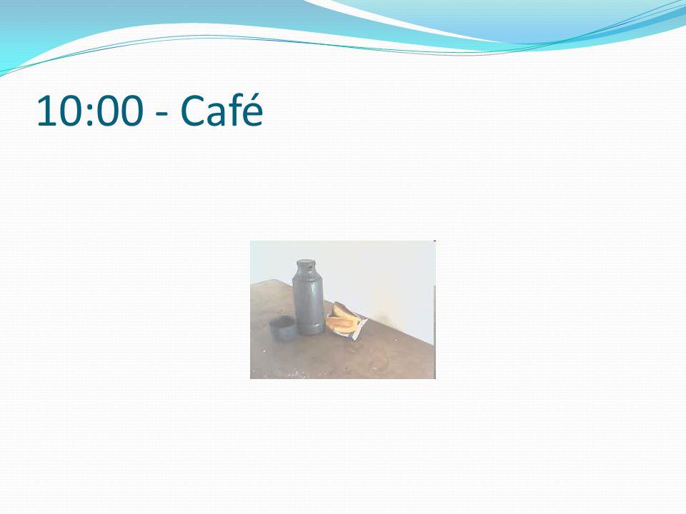 10:00 - Café
