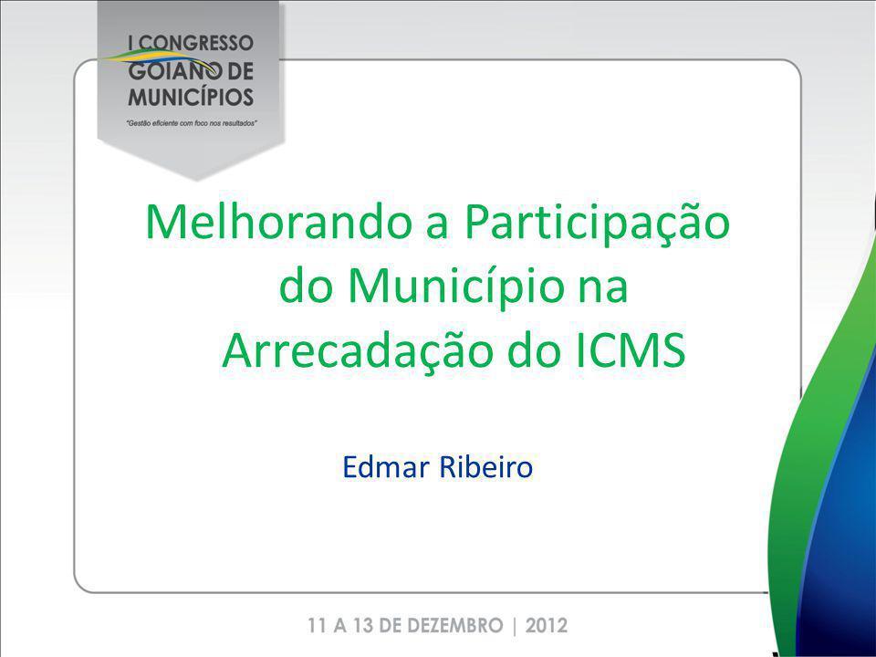 Melhorando a Participação do Município na Arrecadação do ICMS