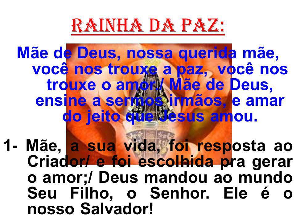 Rainha da paz: