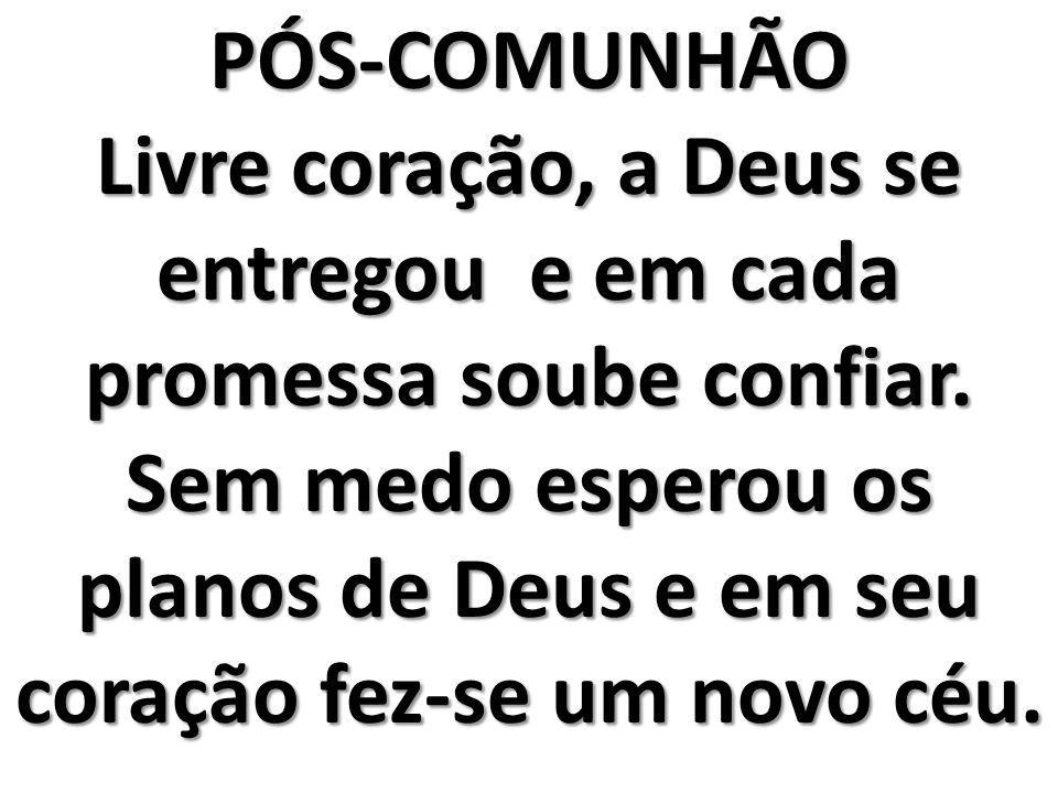 PÓS-COMUNHÃO
