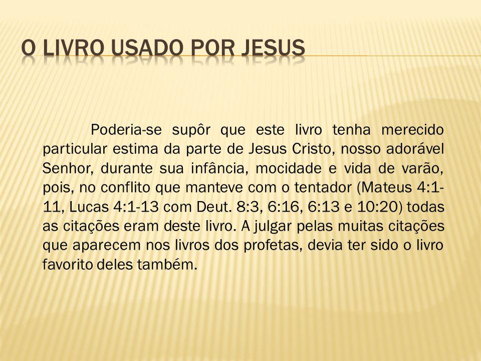 O livro usado por jesus