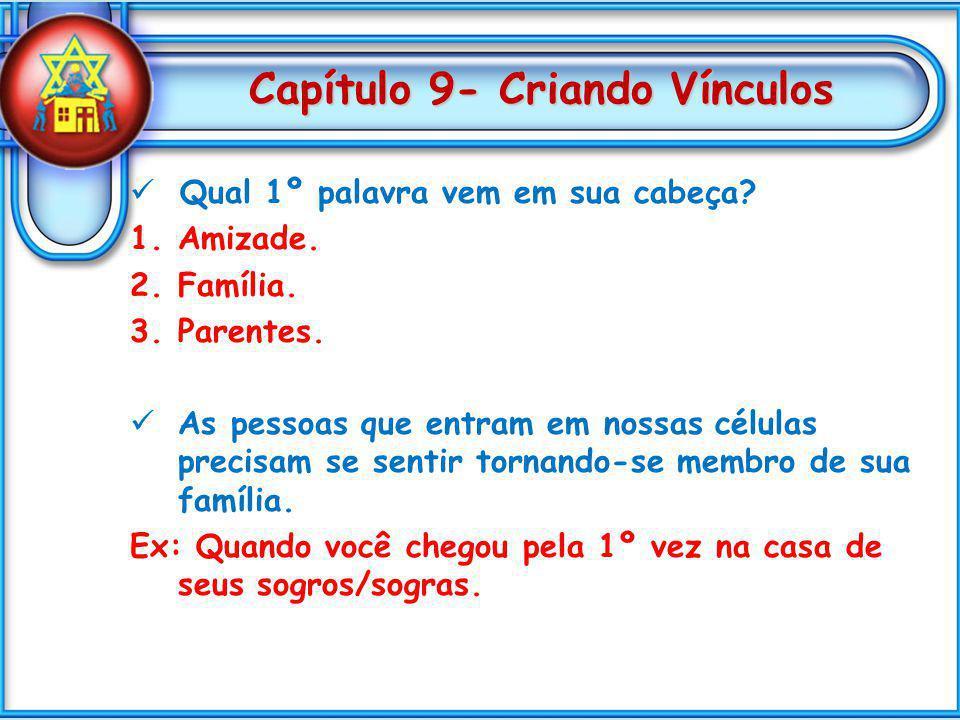 Capítulo 9- Criando Vínculos