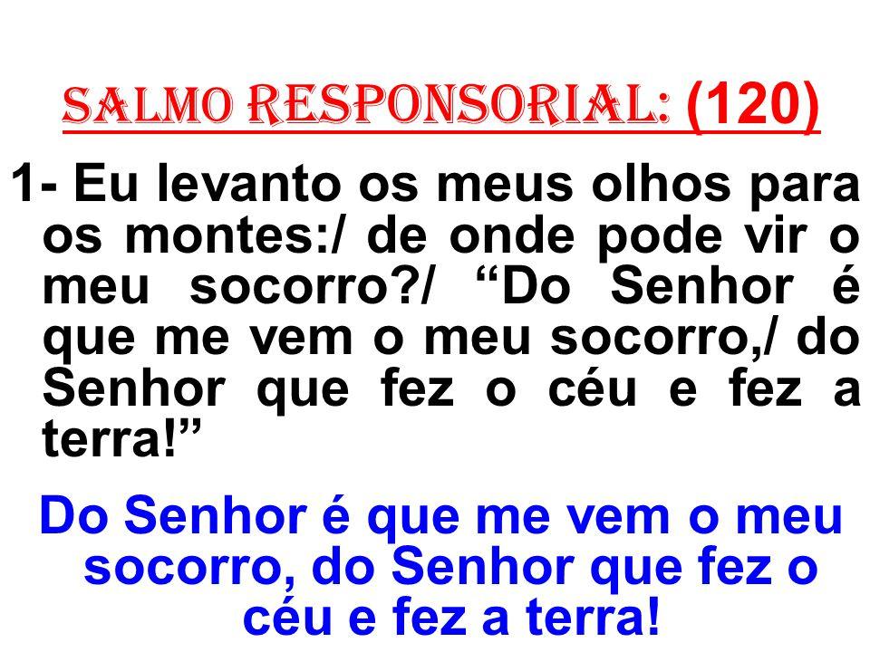 salmo responsorial: (120)