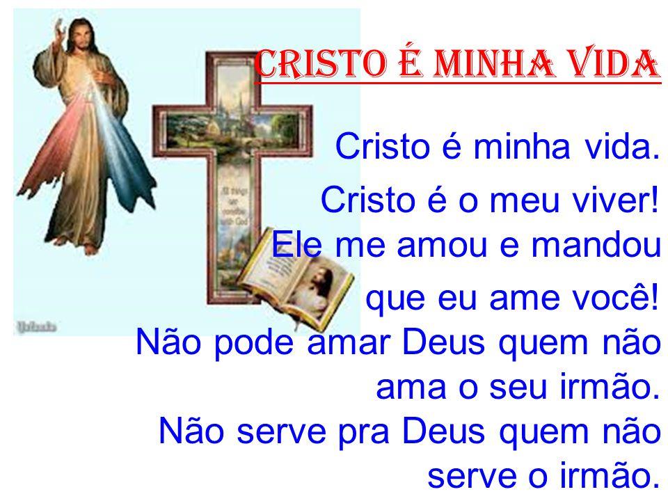 CRISTO É MINHA VIDA Cristo é minha vida.
