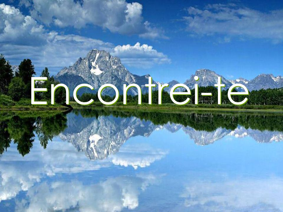 Encontrei-te