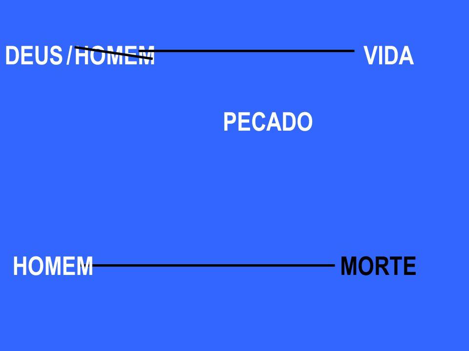 DEUS / HOMEM VIDA PECADO HOMEM MORTE
