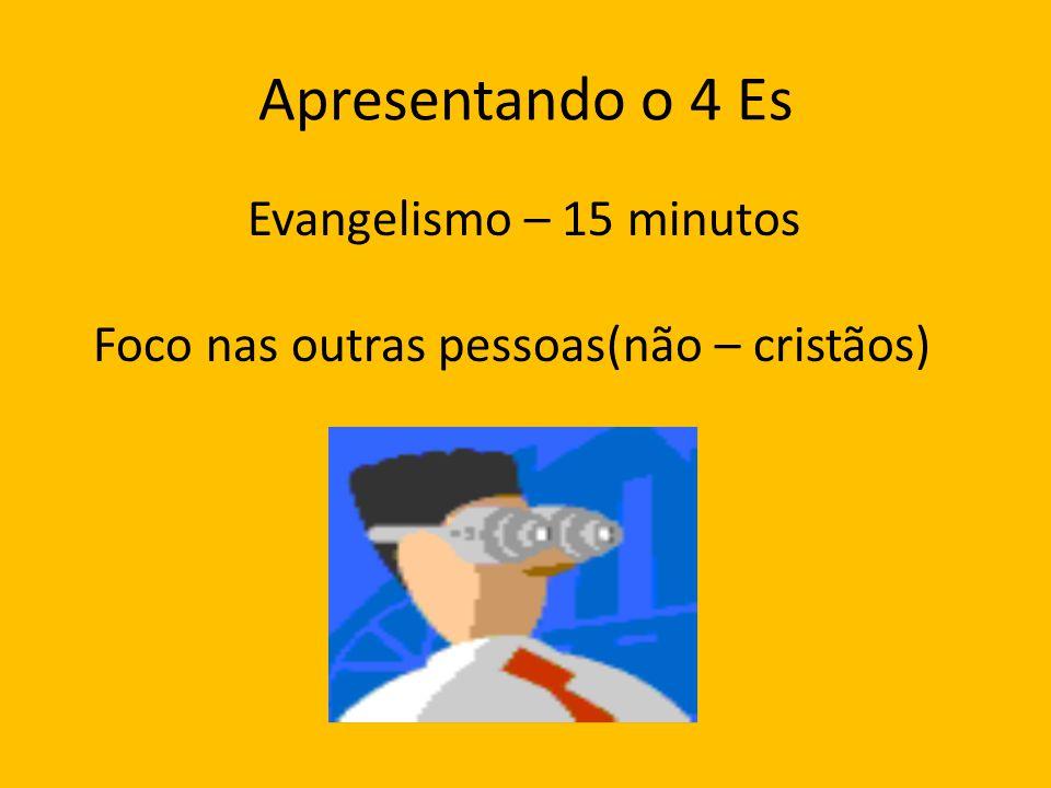 Apresentando o 4 Es Evangelismo – 15 minutos