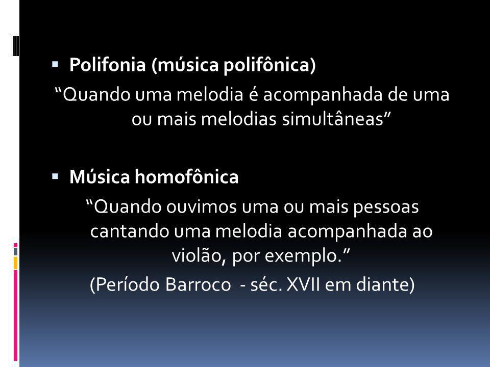 Polifonia (música polifônica)