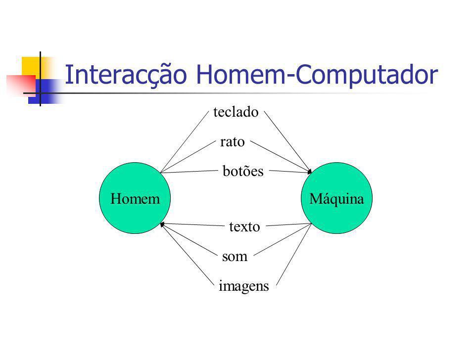 Interacção Homem-Computador