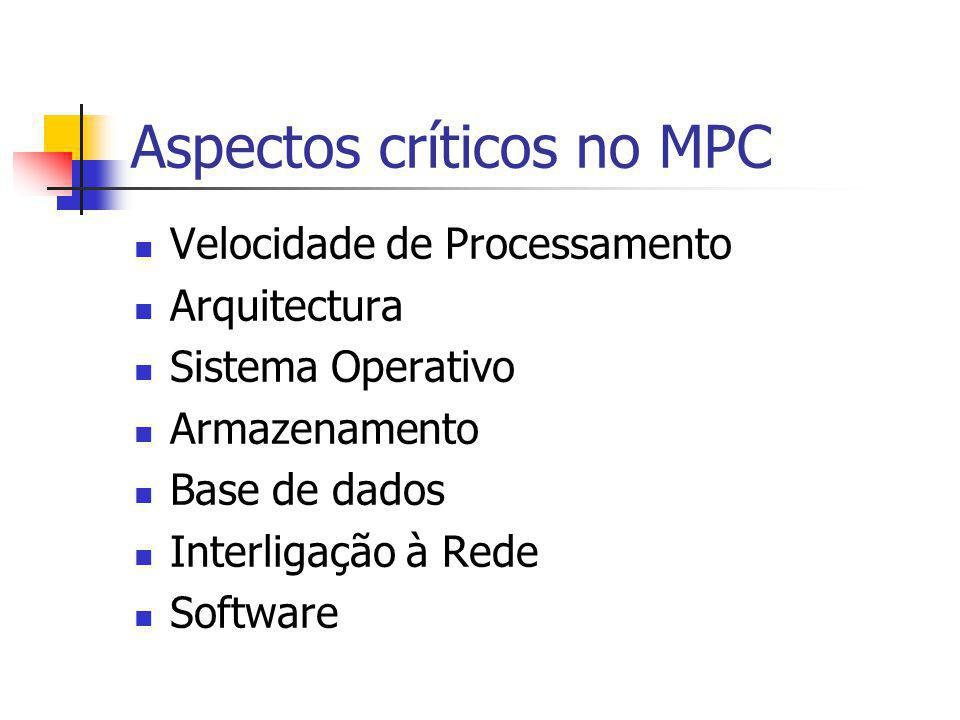 Aspectos críticos no MPC