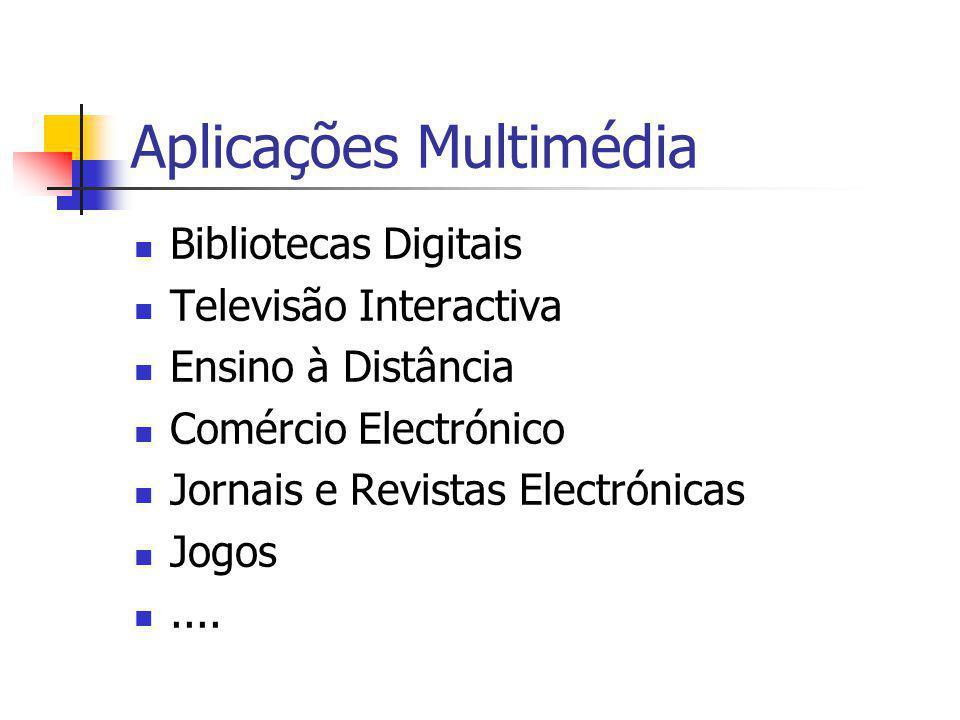 Aplicações Multimédia