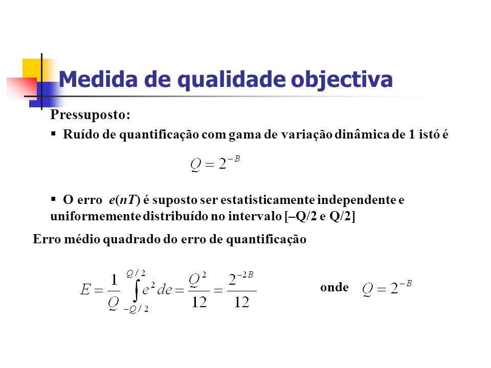 Medida de qualidade objectiva