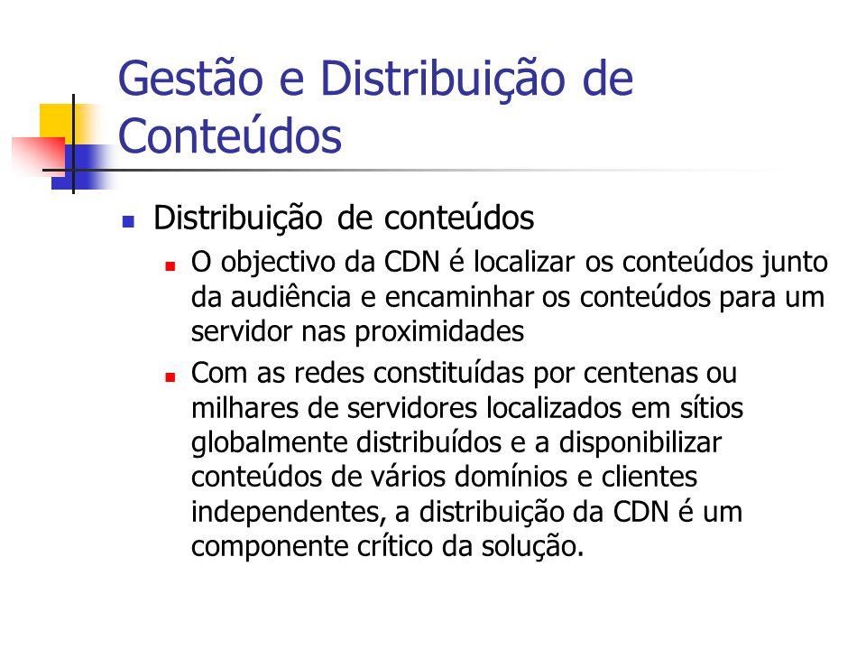 Gestão e Distribuição de Conteúdos