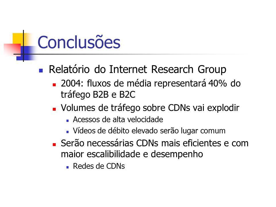 Conclusões Relatório do Internet Research Group