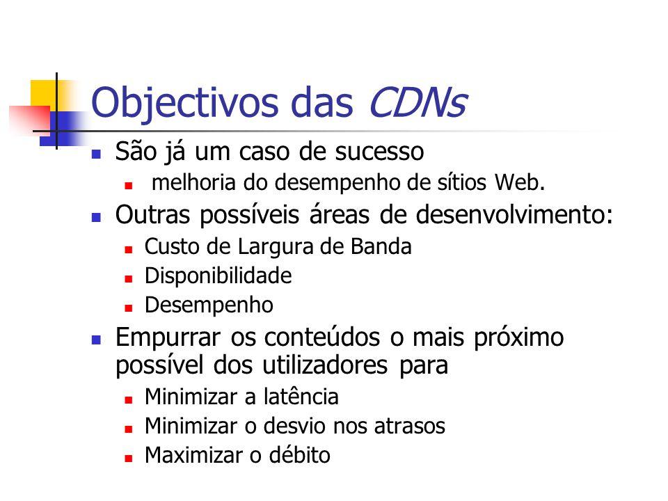 Objectivos das CDNs São já um caso de sucesso
