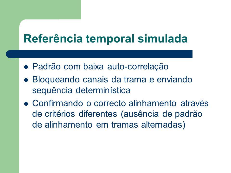 Referência temporal simulada