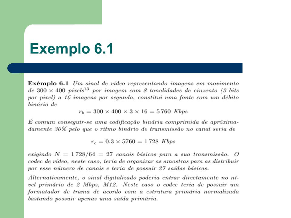 Exemplo 6.1