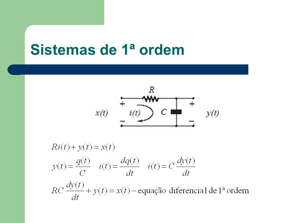 Sistemas de 1ª ordem