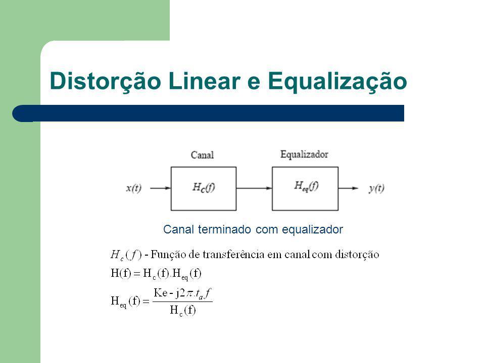 Distorção Linear e Equalização
