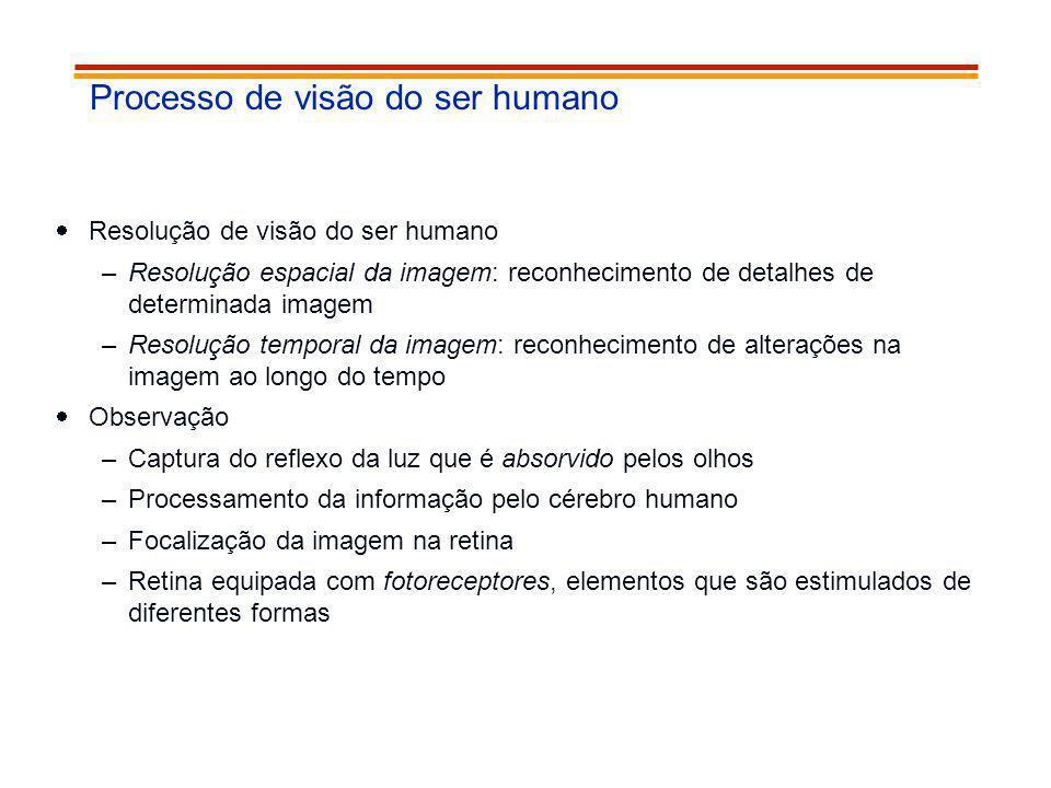Processo de visão do ser humano