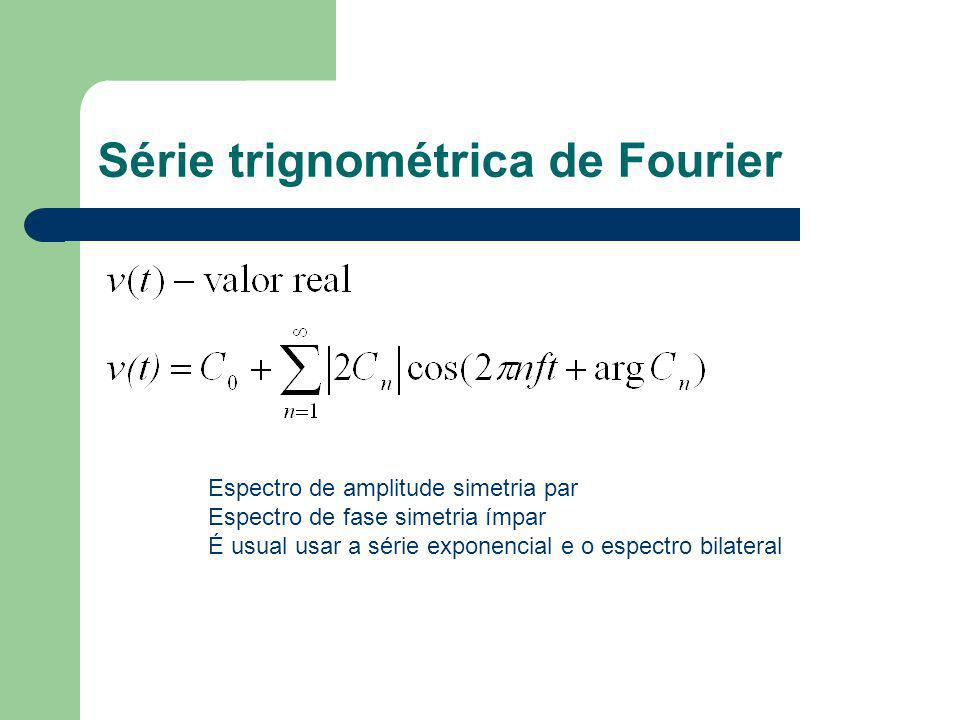 Série trignométrica de Fourier