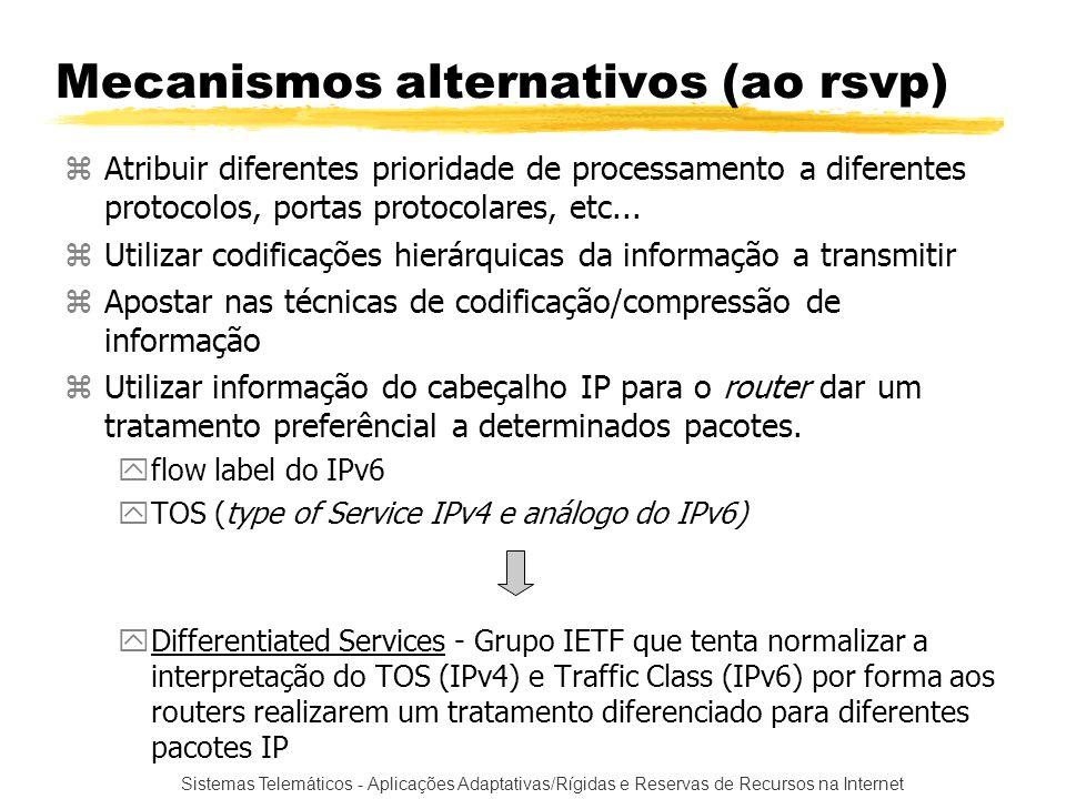 Mecanismos alternativos (ao rsvp)