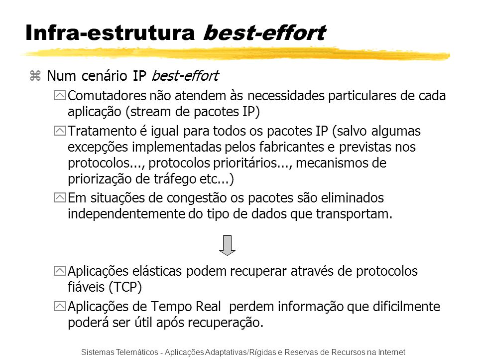 Infra-estrutura best-effort