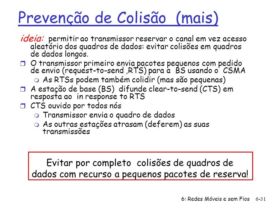 Prevenção de Colisão (mais)