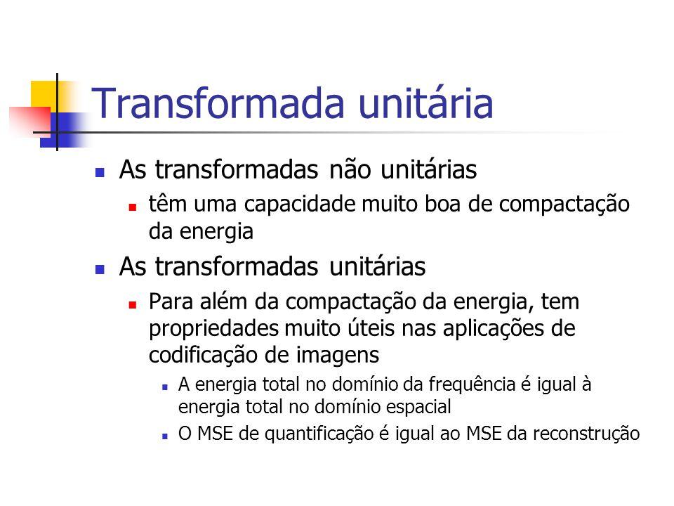 Transformada unitária