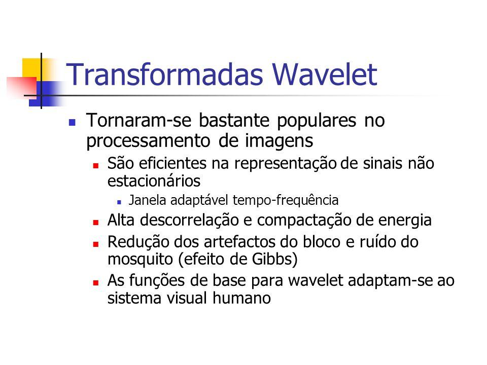 Transformadas Wavelet
