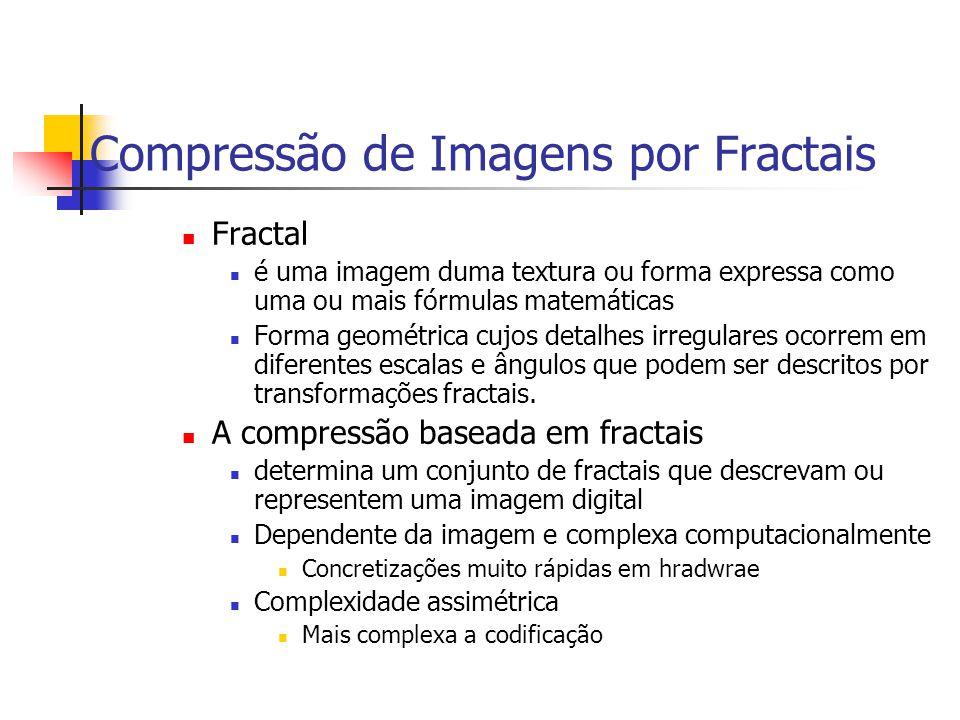 Compressão de Imagens por Fractais