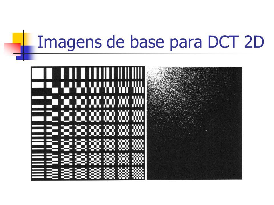 Imagens de base para DCT 2D