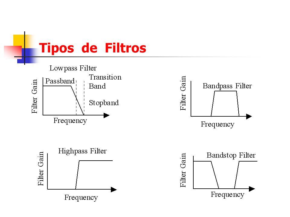 Tipos de Filtros